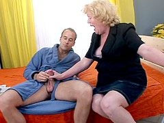 Hard dick drill old cunt horny blonde..