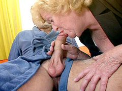 Hard dick drill old cunt horny blonde granny babe in hotel