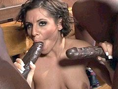 Mature mom interracial big..