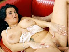 Chubby mature housewife with natural big tits fucked by..