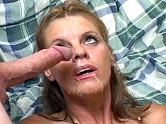 MMF action mature fucking doggystyle and facial cumshot