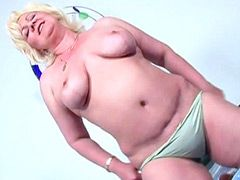 Chubby mature blonde getting fucking..