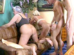 Matures pussy gangbanged group orgy movies