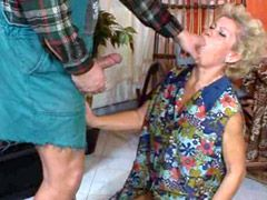 Granny whore hard pussy screwed