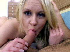Blonde mature doggystyle sex and facial sex