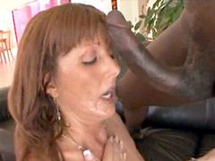 20 inch black monster cock hard banged..