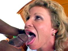 Beautiful mature whore interracial hardcore by big black..