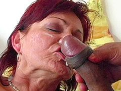 Granny whore gets fisting fucked and wild sex