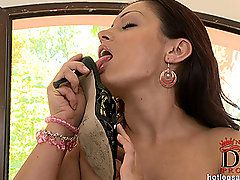 We welcome Aria Giovanni back for another appearance, and..